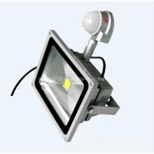 IP65 Waterproof Outdoor 40W PIR Motion Sensor LED Flood Light avec garantie de 3 ans