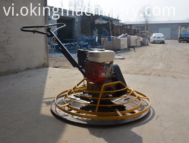 Used concrete power trowel machine