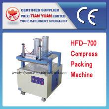 Máquina de embalagem de compressa de cilindro de ar duplo