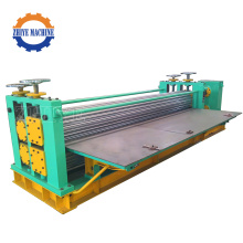 Galvaniserad Aluminium Corrugated Steel Sheet Roll Forming Machine