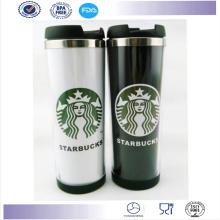 Tasse de voyage nouvelle conception avec papier Insérer gobelet de café Starbucks Coffee Mug
