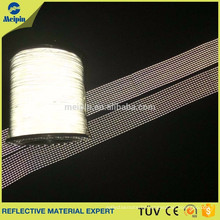 Double side knitting reflecting yarn/reflex-thread