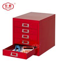 Armário da gaveta do Desktop 5 do organizador do armazenamento do Desktop do metal