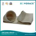 Medios de filtro de los colectores del polvo de Baghouse Bolso de fieltro de la aguja de Ryton