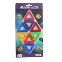 Brinquedos magnéticos ABS Bricks Magformers Sets Brinquedos Criatividade Inteligência
