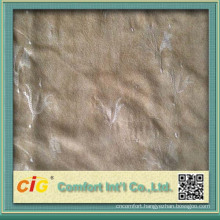 Emborider and Fashion designs Suede Fabrics for Sofa and Car Seat