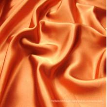 100% Polyester-Ebene gefärbtes Satin-Gewebe