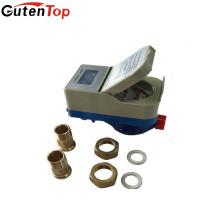 Gutentop RF ou IC cartão pré-pago inteligente medidor de fluxo de água