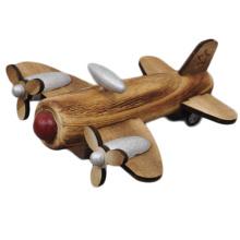 Avión de madera del juguete del modelo del pasajero del avión de diseño clásico de la marca de FQ