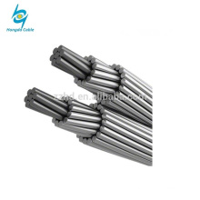 bare stranded conductor aluminum wire cable greased ACSR conductor