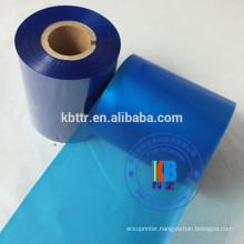 Printer ribbon type Cyan color thermal transfer ribbon
