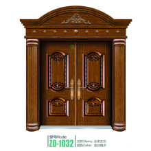 Puerta interior creativo cobre interiores puertas de cobre