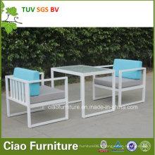 Sofa en aluminium de loisirs de jardin de loisirs de 2016 pour extérieur (CF1292A)