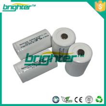 Bateria de níquel cadmium nicd rechageable d