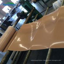 clear natural gum rubber sheet roll