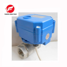 5v dc3.6v-6v DC12v dn15 dn20 ss304 CWX-15N electric valve
