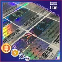 Printing Barcode Hologram Sticker Label