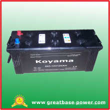 683-12V120ah-Heavy Duty Truck Battery for South Africa