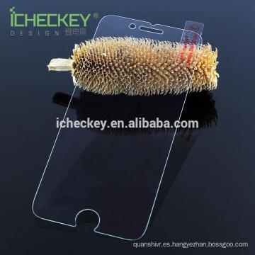Protector de pantalla de cristal templado anti-azul claro para iphone 7