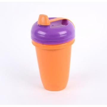 2PCS Plastic Spill- Proof Sippy Cups