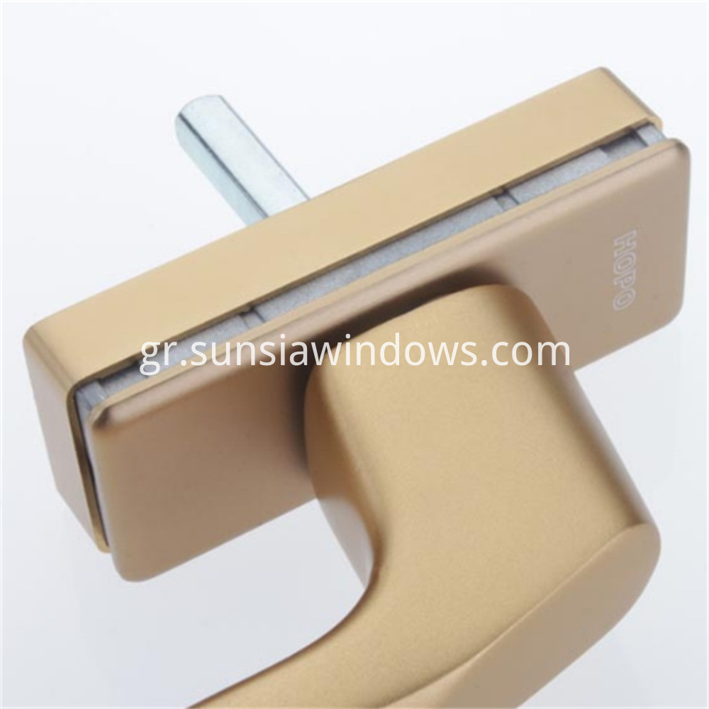 Window Handle,heavy duty,for sliding door, aluminium profiles, wood profiles,heavy tilt turn windows Detail 2