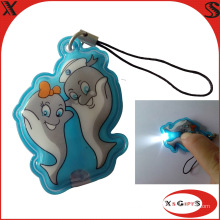 Soft PVC LED Keychain with Custom Logo