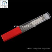 Aiguilles d'acupuncture avec poignée en argent (AS-2)