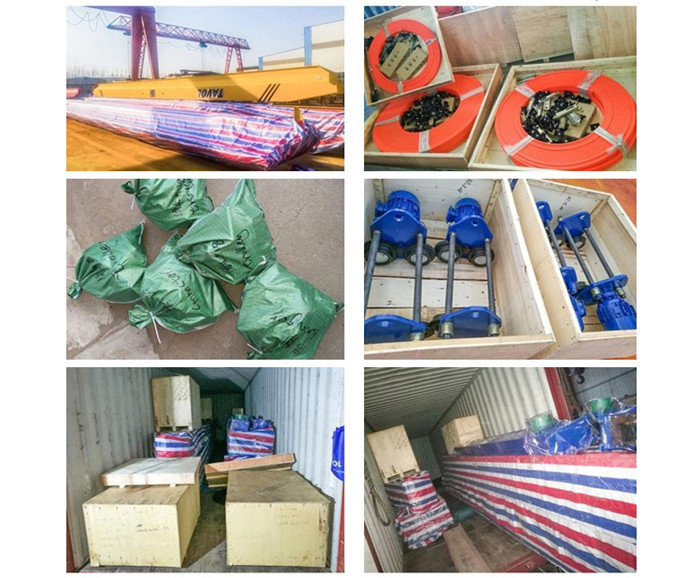 single girder gantry crane Delivery