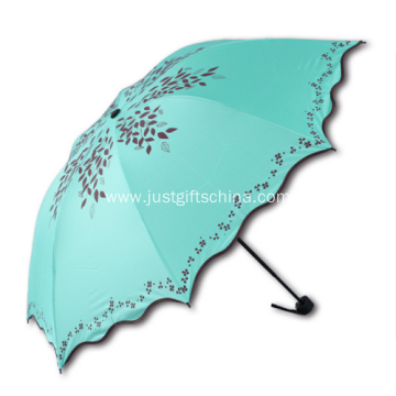 Promotional Logo Folding Umbrellas