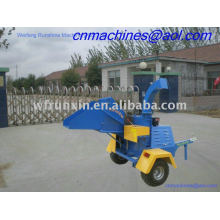 CE approved diesel wood chipper