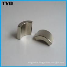 Permanent Strong Standard Neodymium Magnet Grade N35 Arc