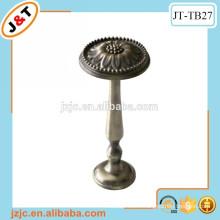 antique brass aluminum alloy curtain rod tieback holder