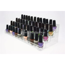 Makeup Products Retail Store Promotional Counter Top Clear Acrylic Deco Nail Polish Cosmetic Organizer