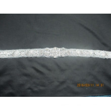Professional sash rhinestone applique bridal belt crystal appliques trim for wedding dresses belt