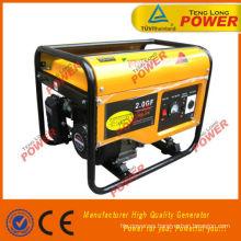 192F eléctrico 7.5KW generador de gasolina