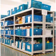 Almacén Autopartes Rack / Estante de servicio medio para cajas