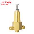 Bon prix valve de surpression de couleur en laiton