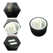 Preiswerte ABS elektronische Gehäuse spritzgegossene Kunststoffteile Produkte