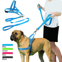 Köpek Harness Tasma Set Pet Yelek Kurşun