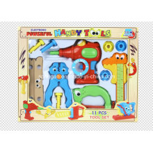 Joven ingeniero conjunto 11 PCS herramientas de juguete