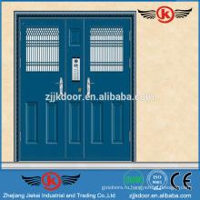 JK-SS9021 коммерческая двойная дверь безопасности из нержавеющей стали