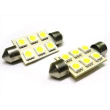 5050 6SMD 36mm Festoon Light for Car