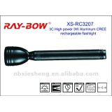 RC3207 3C High power 3W Aluminum rechargeable torch