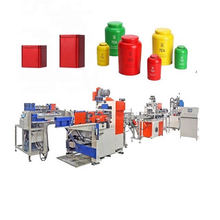 Máquina para fabricar cajas de estaño dulce completamente automática