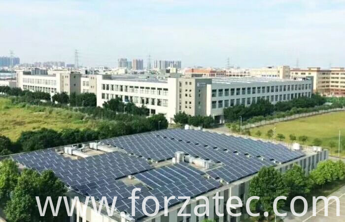 100KW roof top PV plant