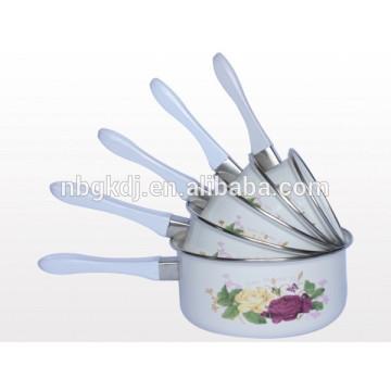 sauce pan sets & enamel cookware