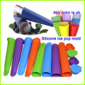 Moule de Food Grade Silicone Popsicle glace Pop coloré