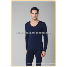 sexy cotton seamless men long johns