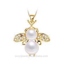 Новое прибытие Маленькое ожерелье пчелы кулон для мальчика и девочку