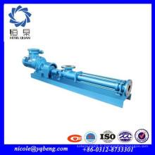 Pompe à cavité progressive en acier inoxydable industrielle de bonne qualité